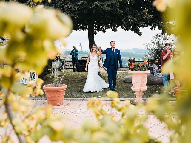 Il matrimonio di Federico e Manuela a Trevignano Romano, Roma 25