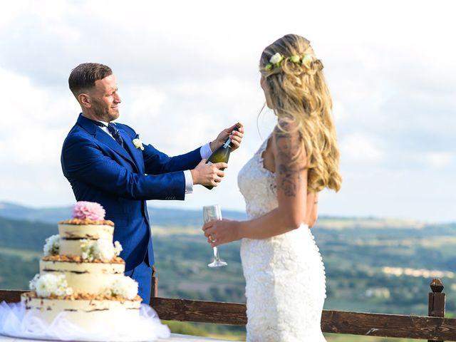 Il matrimonio di Federico e Manuela a Trevignano Romano, Roma 34