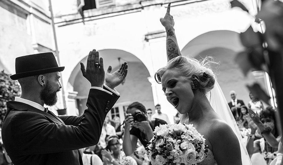 Il matrimonio di Denny e Serena a Osasco, Torino