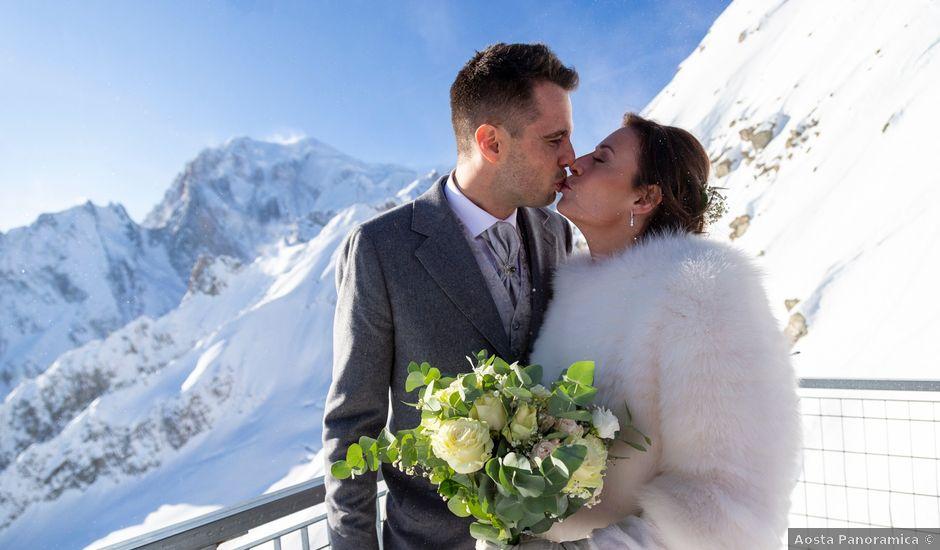Il matrimonio di Viviana e Simone a Courmayeur, Aosta