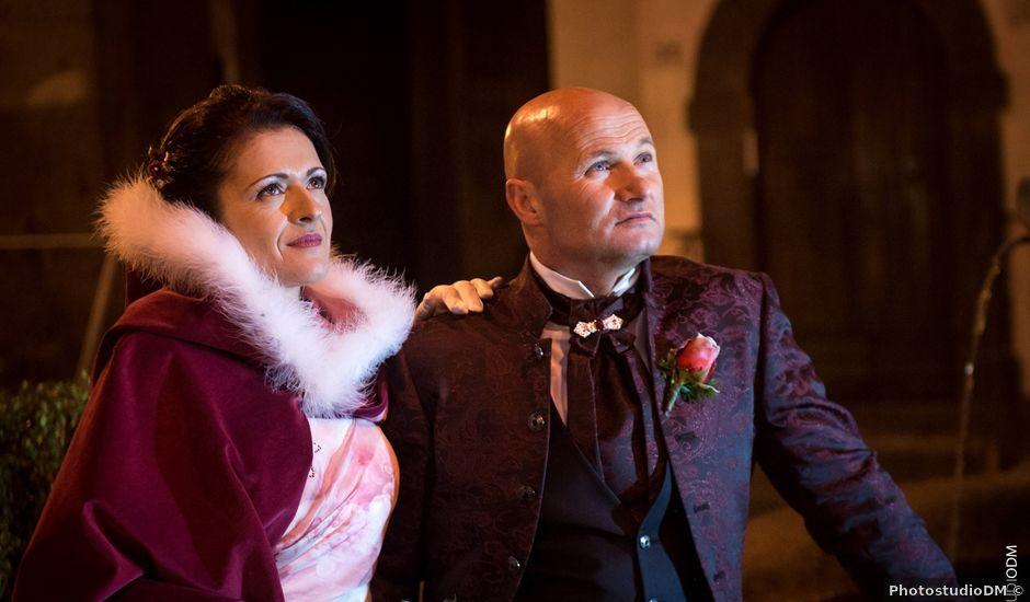 Il matrimonio di Elio e Beatrice a Vetralla, Viterbo