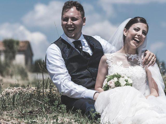 Il matrimonio di Giacomo e Elisa a Serra de' Conti, Ancona 43