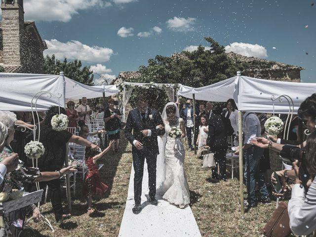 Il matrimonio di Giacomo e Elisa a Serra de' Conti, Ancona 45
