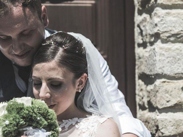 Il matrimonio di Giacomo e Elisa a Serra de' Conti, Ancona 53
