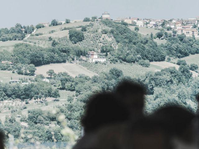 Il matrimonio di Giacomo e Elisa a Serra de' Conti, Ancona 61