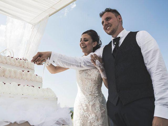 Il matrimonio di Giacomo e Elisa a Serra de' Conti, Ancona 68