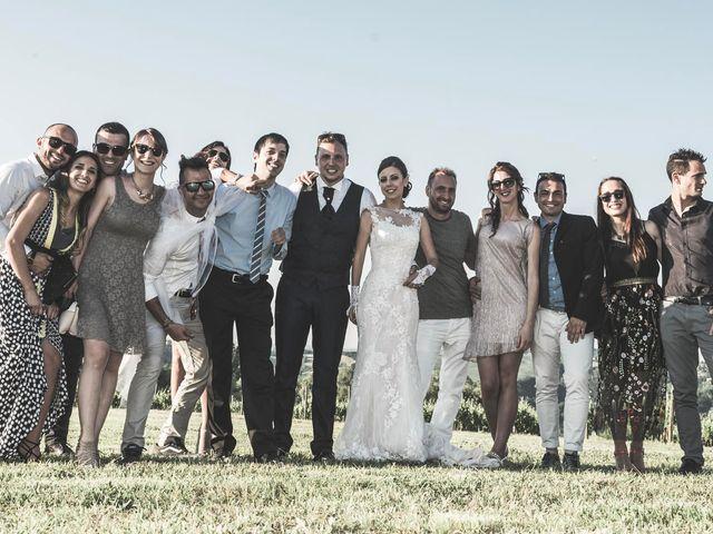 Il matrimonio di Giacomo e Elisa a Serra de' Conti, Ancona 78