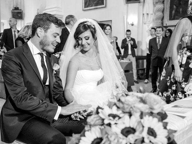 Il matrimonio di Marino e Paola a Carassai, Ascoli Piceno 18