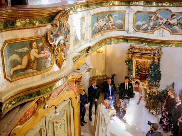 Il matrimonio di Marino e Paola a Carassai, Ascoli Piceno 19