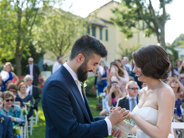 Il matrimonio di Luca e Marta a Cassinetta di Lugagnano, Milano 21