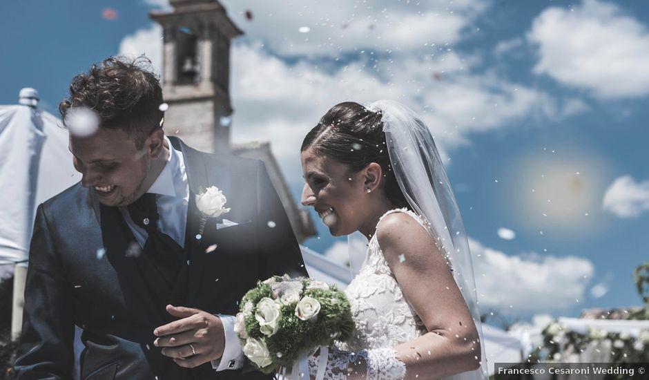 Il matrimonio di Giacomo e Elisa a Serra de' Conti, Ancona