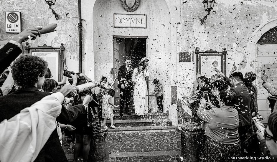 Il matrimonio di Federica e Alessandro a Roma, Roma