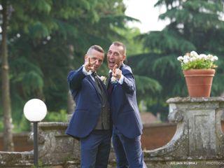 Le nozze di Alex e Fabry