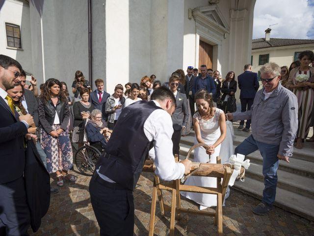 Il matrimonio di Matteo e Marta a Feltre, Belluno 32