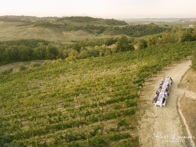 Il matrimonio di Martin e Dorine a Terricciola, Pisa 5
