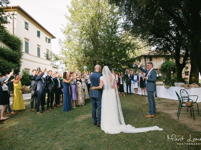 Il matrimonio di Martin e Dorine a Terricciola, Pisa 11