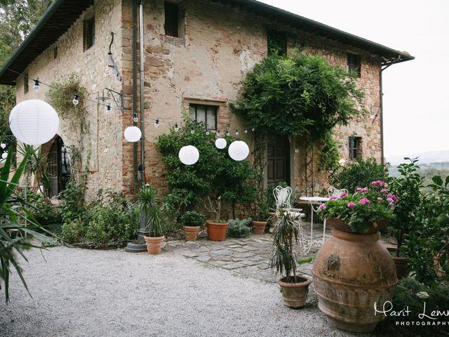 Il matrimonio di Martin e Dorine a Terricciola, Pisa 16