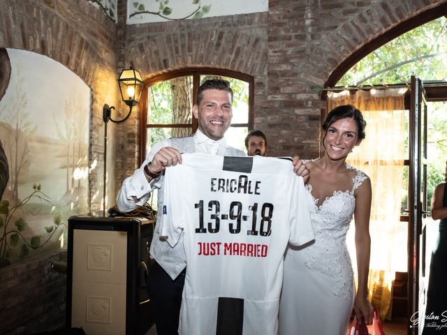 Il matrimonio di Alessandro e Erica a Casalnoceto, Alessandria 35