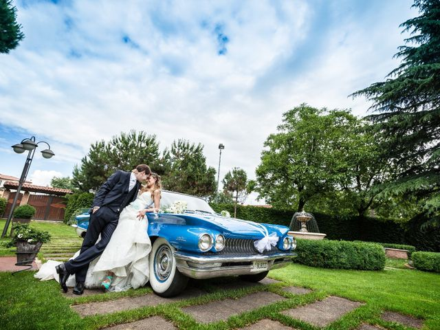 le nozze di Ingrid e Marco