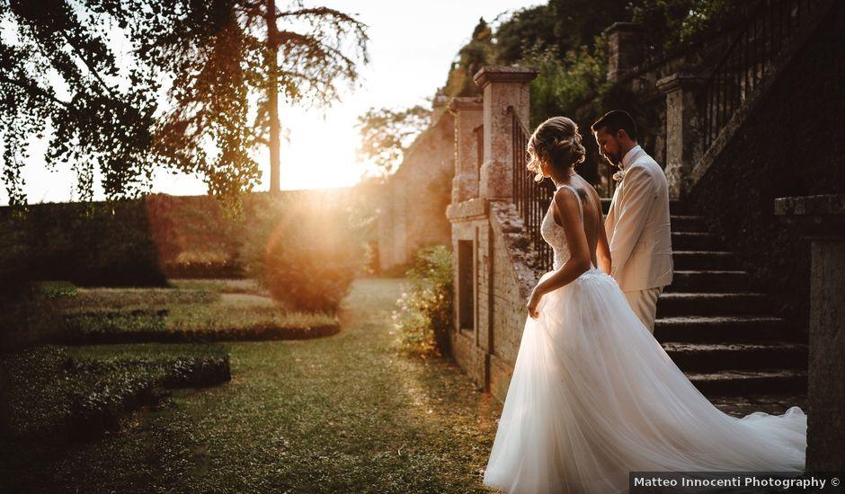 Il matrimonio di Simone e Caterina a Siena, Siena