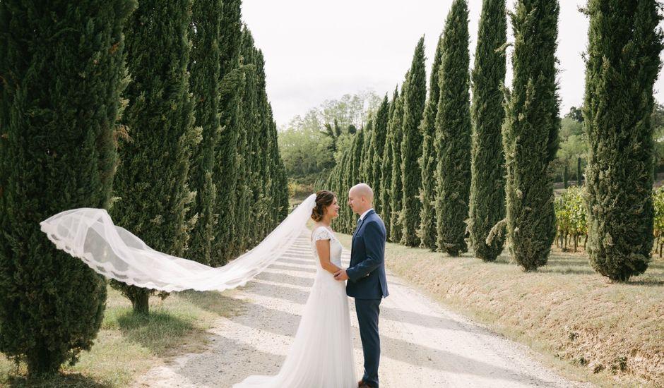 Il matrimonio di Martin e Dorine a Terricciola, Pisa