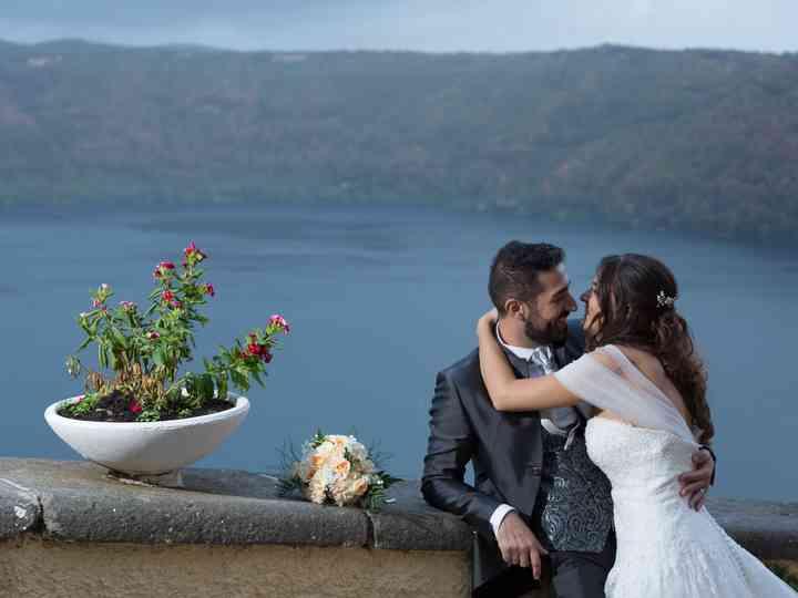 le nozze di Flavia e Domenico