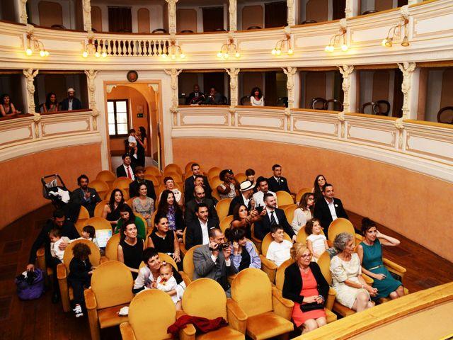 Il matrimonio di Juan e Cinzia a Sarteano, Siena 8