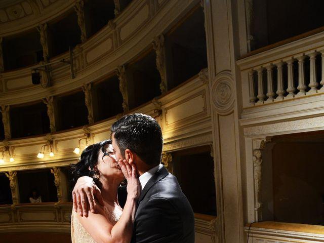 Il matrimonio di Juan e Cinzia a Sarteano, Siena 13