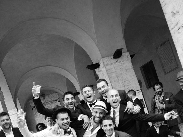 Il matrimonio di Juan e Cinzia a Sarteano, Siena 19