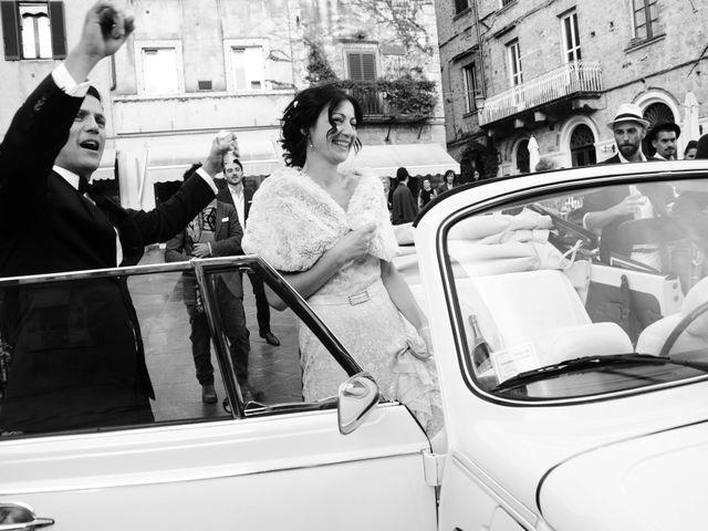 Il matrimonio di Juan e Cinzia a Sarteano, Siena 21