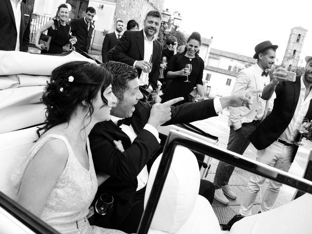 Il matrimonio di Juan e Cinzia a Sarteano, Siena 22