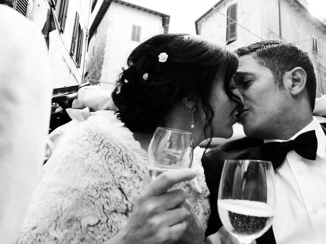 Il matrimonio di Juan e Cinzia a Sarteano, Siena 23