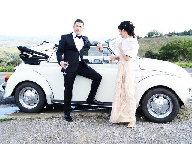Il matrimonio di Juan e Cinzia a Sarteano, Siena 25