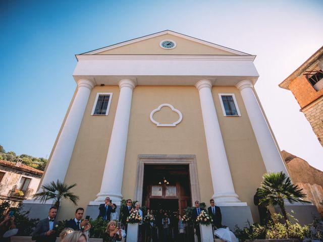 Il matrimonio di Romolo e Aleksandra a Palinuro, Salerno 19