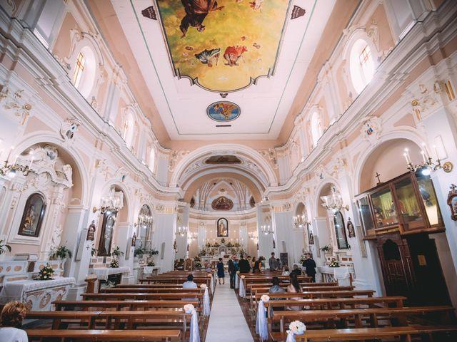 Il matrimonio di Romolo e Aleksandra a Palinuro, Salerno 20