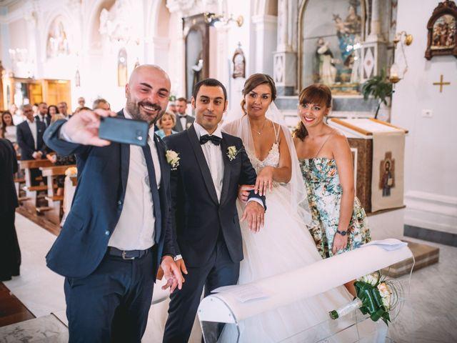 Il matrimonio di Romolo e Aleksandra a Palinuro, Salerno 27