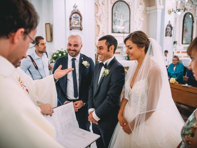 Il matrimonio di Romolo e Aleksandra a Palinuro, Salerno 28