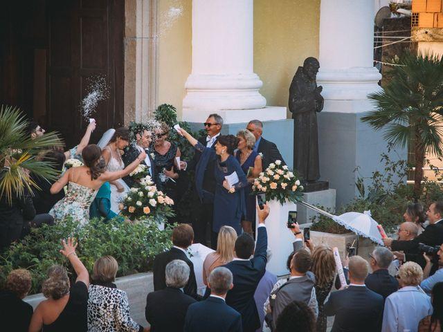 Il matrimonio di Romolo e Aleksandra a Palinuro, Salerno 29