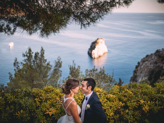Il matrimonio di Romolo e Aleksandra a Palinuro, Salerno 35
