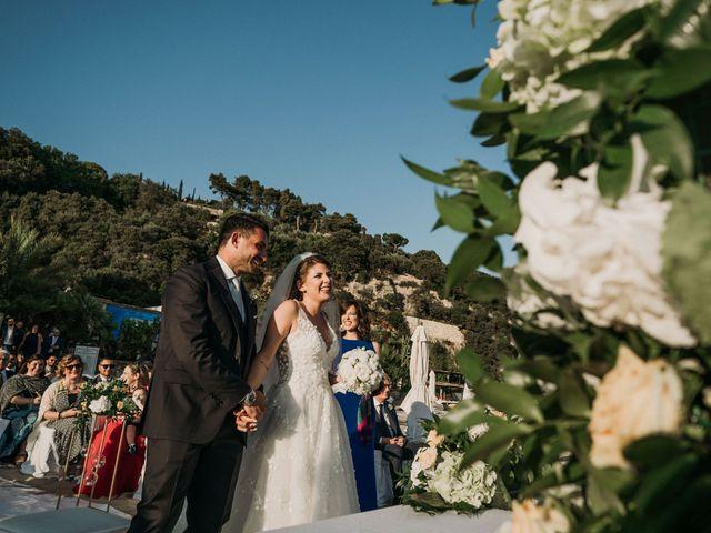 Il matrimonio di Fabiola e Prospero a Gaeta, Latina 17