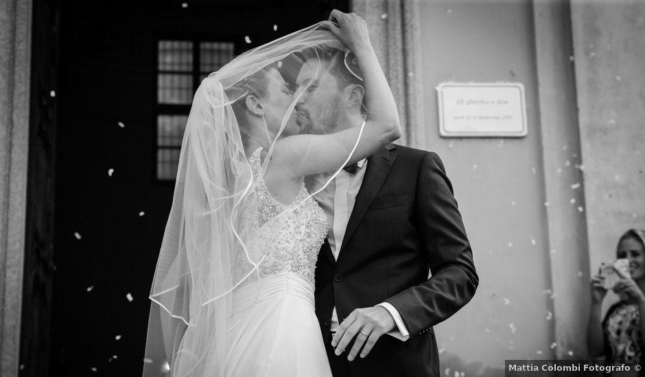 Il matrimonio di Mat e Giuly a Pavia, Pavia