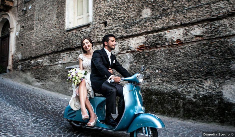 Il matrimonio di Giuseppe e Francesca a Belmonte Calabro, Cosenza