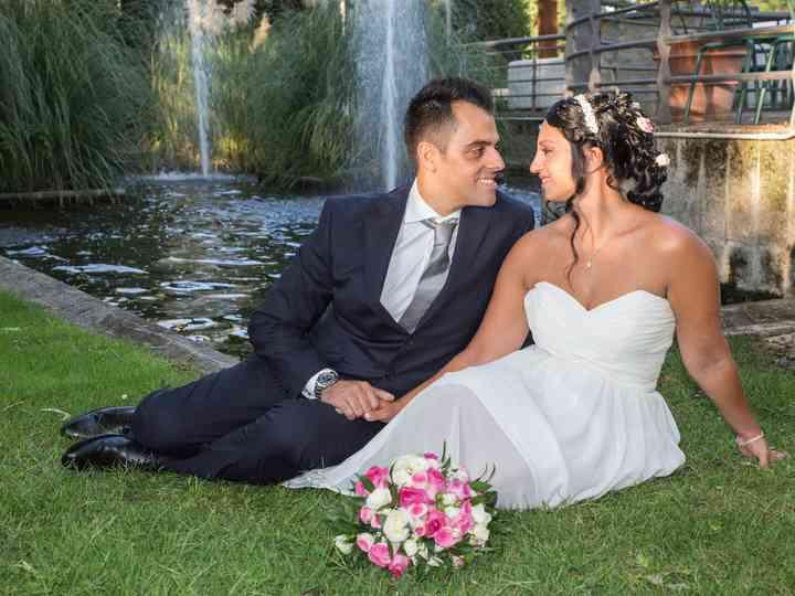 le nozze di Angelina e Antonino