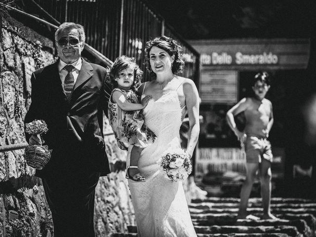 Il matrimonio di Enzo e Anna a Praiano, Salerno 1