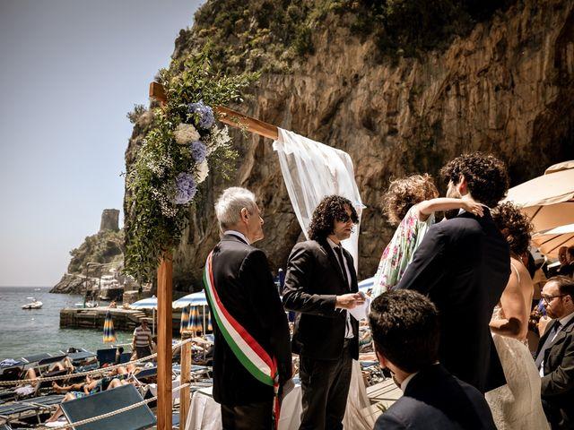 Il matrimonio di Enzo e Anna a Praiano, Salerno 41