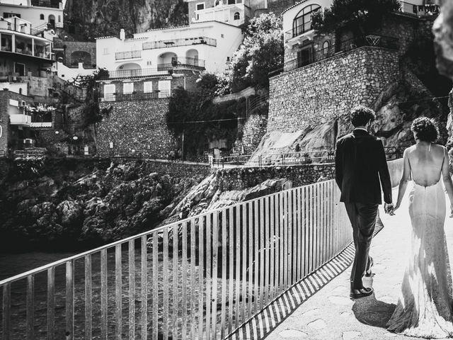 Il matrimonio di Enzo e Anna a Praiano, Salerno 61