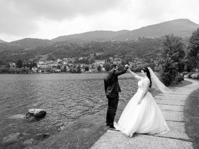 Il matrimonio di Omar e Marica a Endine Gaiano, Bergamo 54