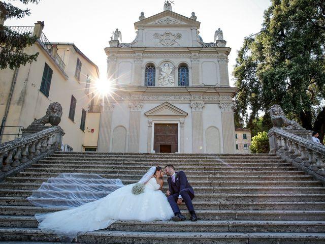 Il matrimonio di Salvatore e Dalila a Rapallo, Genova 18