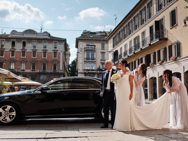 Il matrimonio di Davide e Melanie a Milano, Milano 46