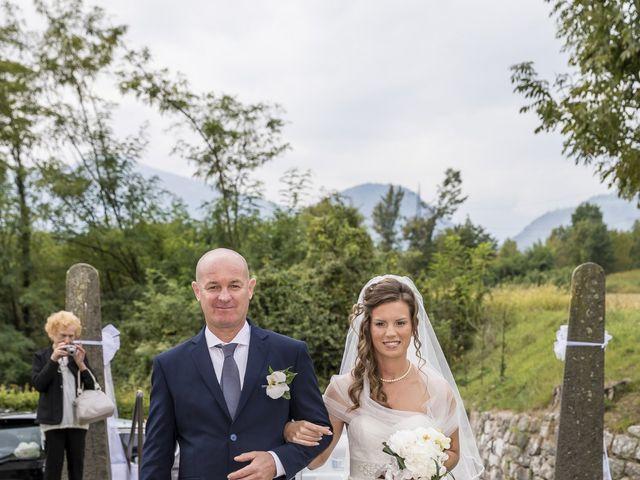 Il matrimonio di Denis e Elisa a Feltre, Belluno 14